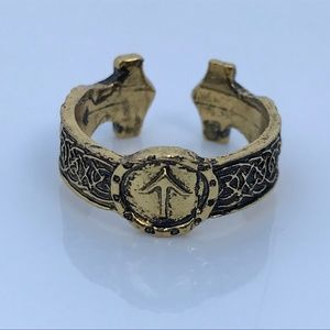 Jewelry - Women Ring Silver Black Tone Vintage Antique Style